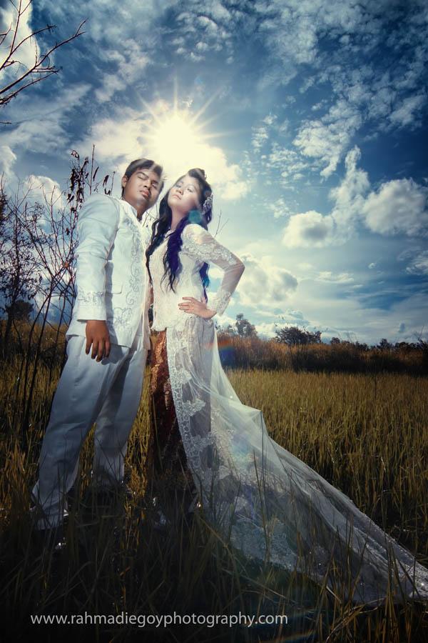 foto prewedding konsep gaun eropa 7