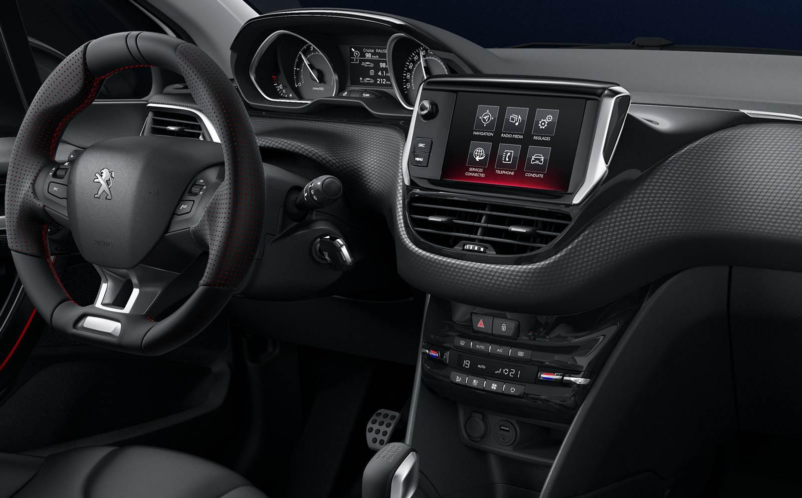 Novo peugeot 208 2016 v deo e especifica es oficiais for Peugeot 208 interior 2017