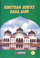 toko buku rahma: buku khutbah jumat basa jawi, pengarang drs. h. adhiman sudjuddin rais, penerbit cendrawasih
