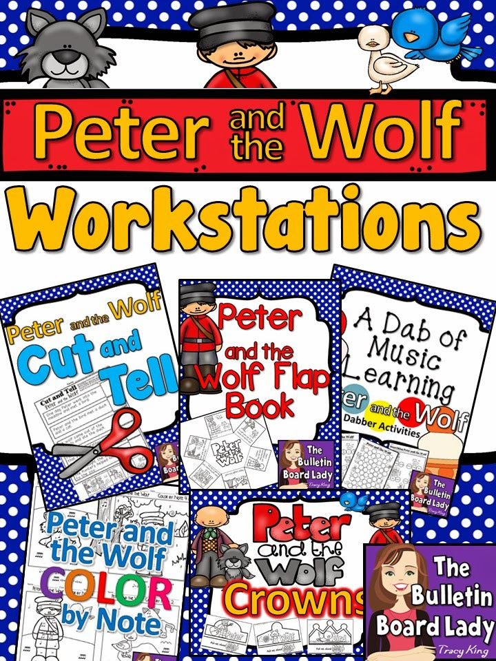 Mrs Kings Music Class May 2015 – Peter and the Wolf Worksheet