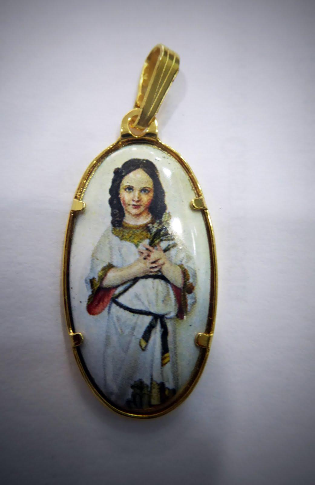 Medalla de la Virgen Niña 52€