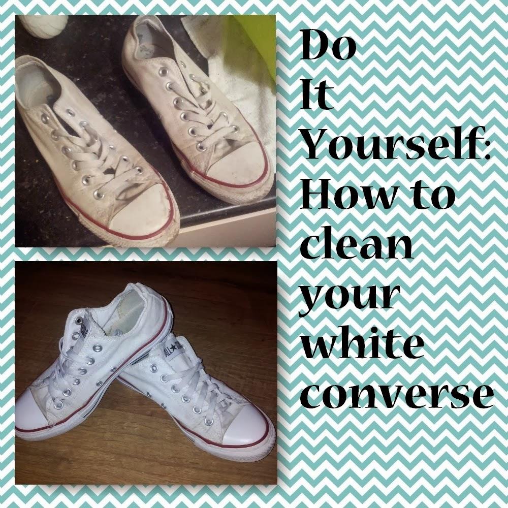 wash white converse in washing machine