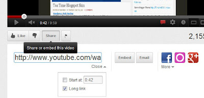 jazzytube video blog template copying the youtube code