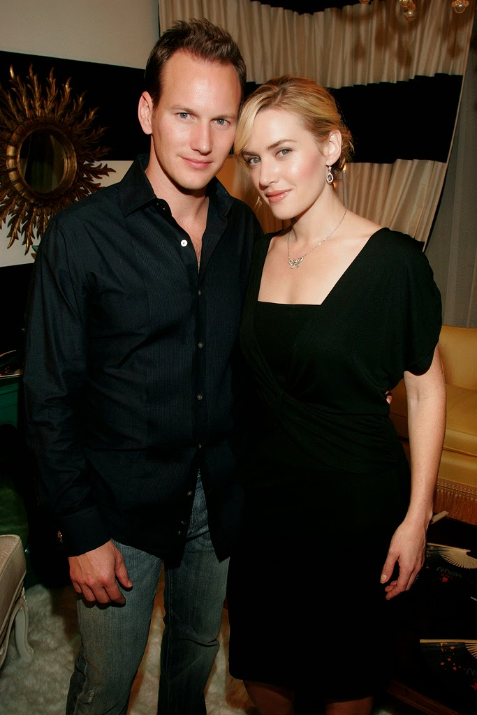 Patrick Wilson with Kate Winslet