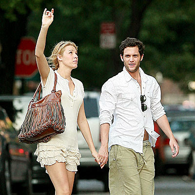 blake lively y penn badgley. lake lively y penn badgley