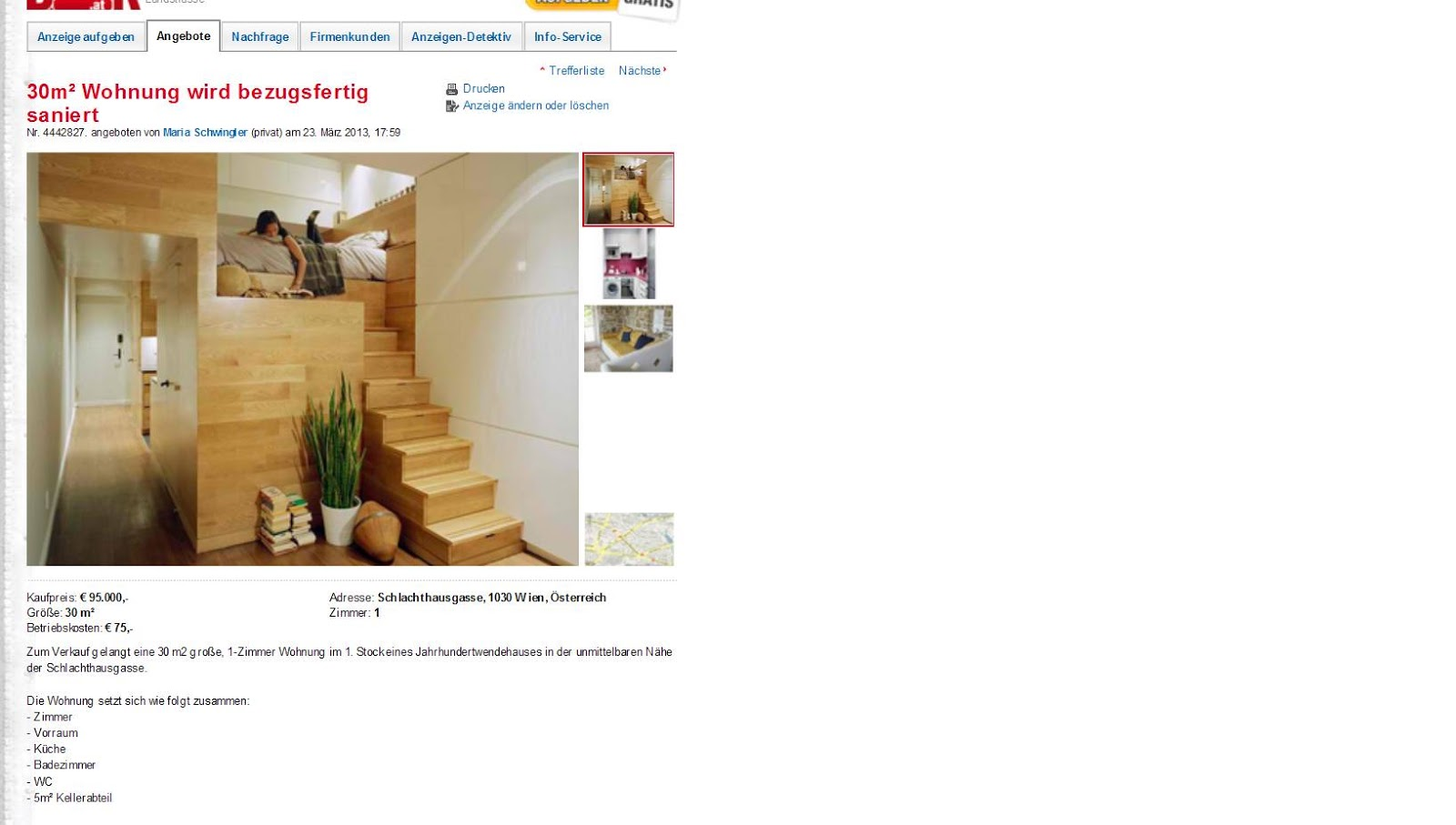 30m wohnung wird bezugsfertig saniert schlachthausgasse 1030 wien. Black Bedroom Furniture Sets. Home Design Ideas