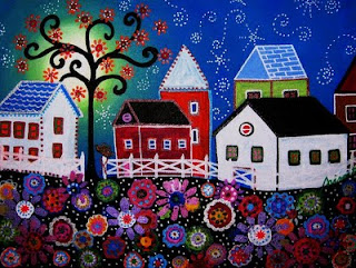 Whimsical painting by Whimsical ArtistPristine Turkus