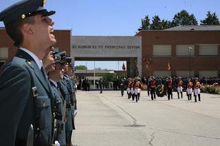 Guardia Civil contra su remilitarización y por los derechos laborales