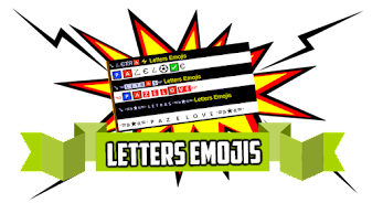 Letters Emojis  ▒❤▒🇱🇪🇹🇷🇦🇸▒❤▒