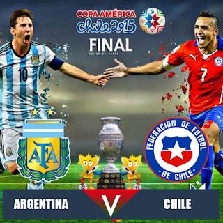 argentina vs chile 2015