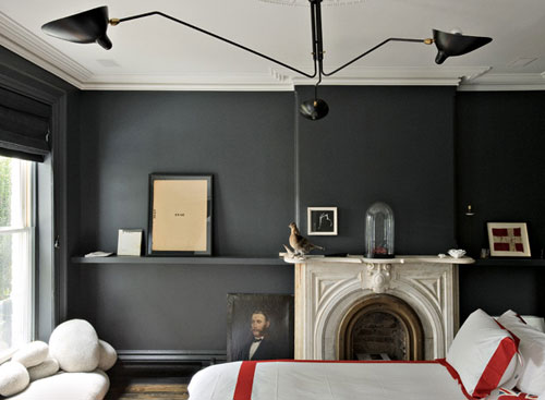 I want a matte black I think...maybe Benjamin Moore's