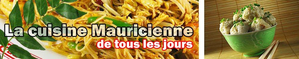 Recette de cuisine de l'ile Maurice
