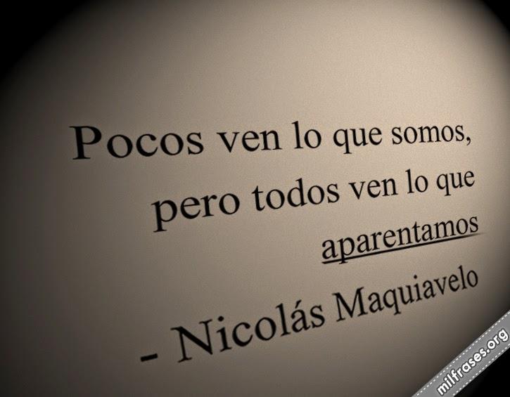 frases de Nicolás Maquiavelo, filósofo político y escritor italiano.