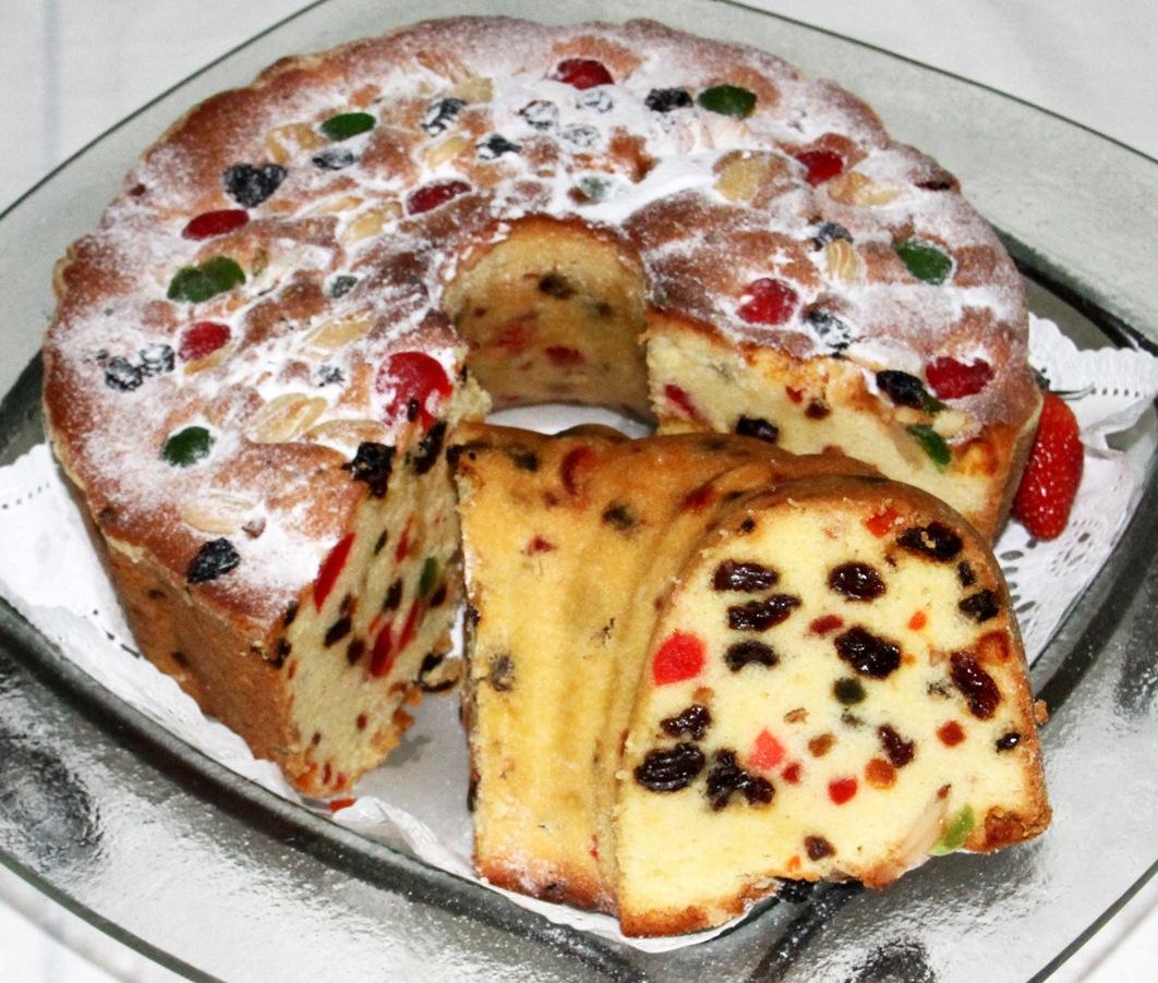 Best Traditional English Fruit Cake Recipe