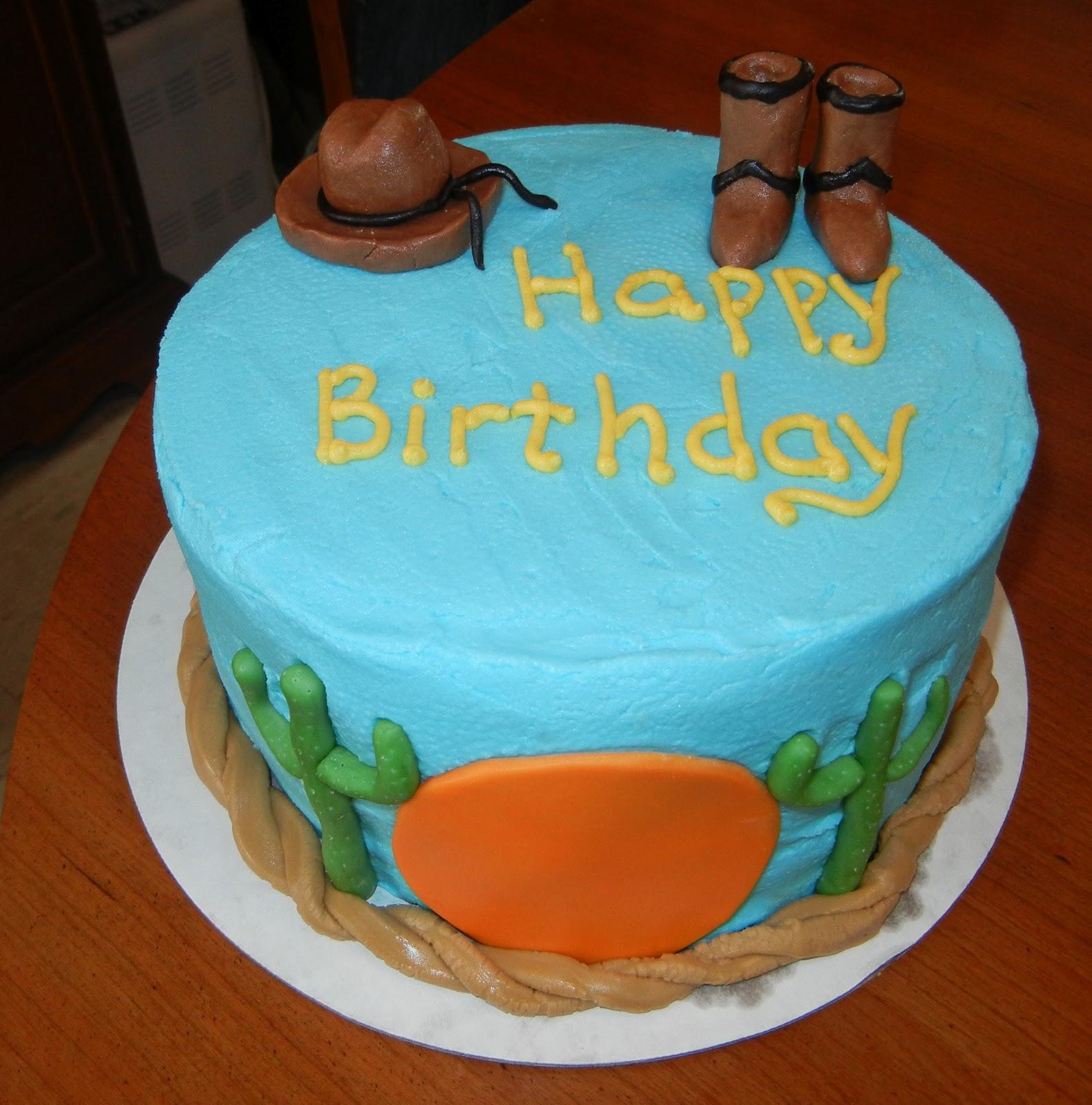 Cashs Cakes Cowboy Cake