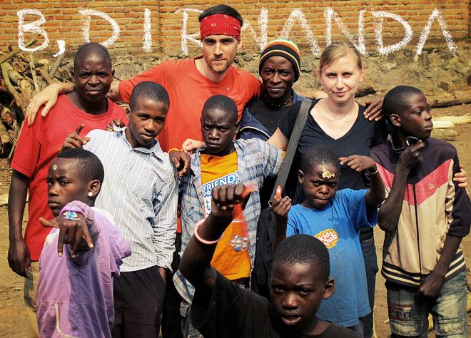 Bret Dorota i Rwanda