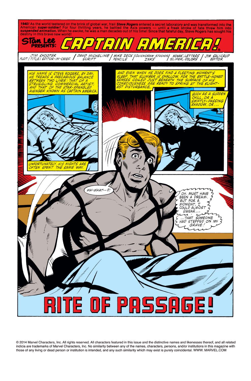 Captain America (1968) Issue #259 #174 - English 2