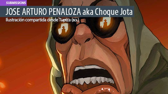 Ilustración. Troll de JOSE ARTURO PEÑALOZA