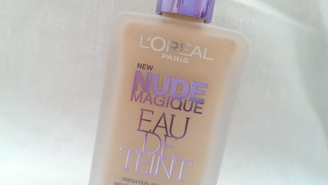 Close up of loreal nude magique