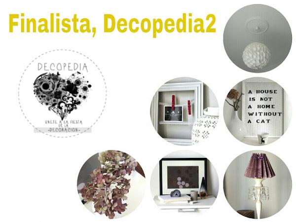 Finalista en la fiesta decopedia2- Decoración Low cost