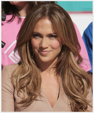 Jennifer lopez brown hair
