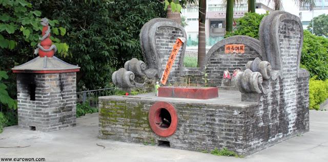 El pequeño Santuario de She Kung