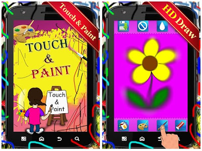 Touch &amp; Paint Android Apps Source Code