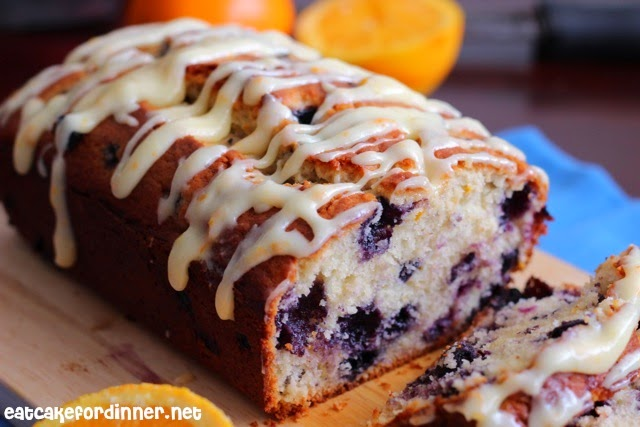 Blueberry Muffins With Icing Orange Blueberry Muffin Bread
