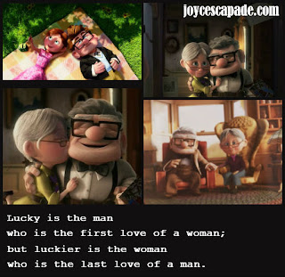 Up Movie Love Quotes Lucky we ♥ - Joy 'N'...