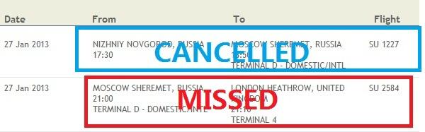 flight delay compensation thomson