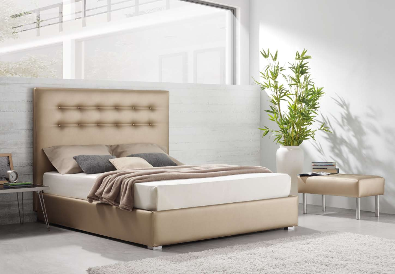Dormitorios con cabeceros tapizados camas tapizadas - Cabeceros cama tapizados tela ...