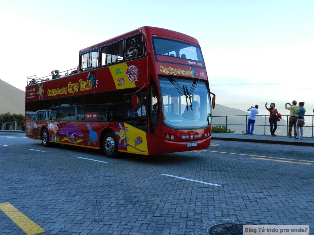 ônibus hop on hop off em Cape Town