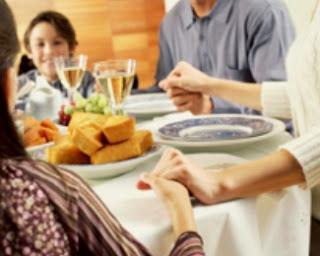 Funny Family Thanksgiving Prayer Joke Picture