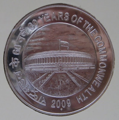 60 years commonwealth 100 rupee rev