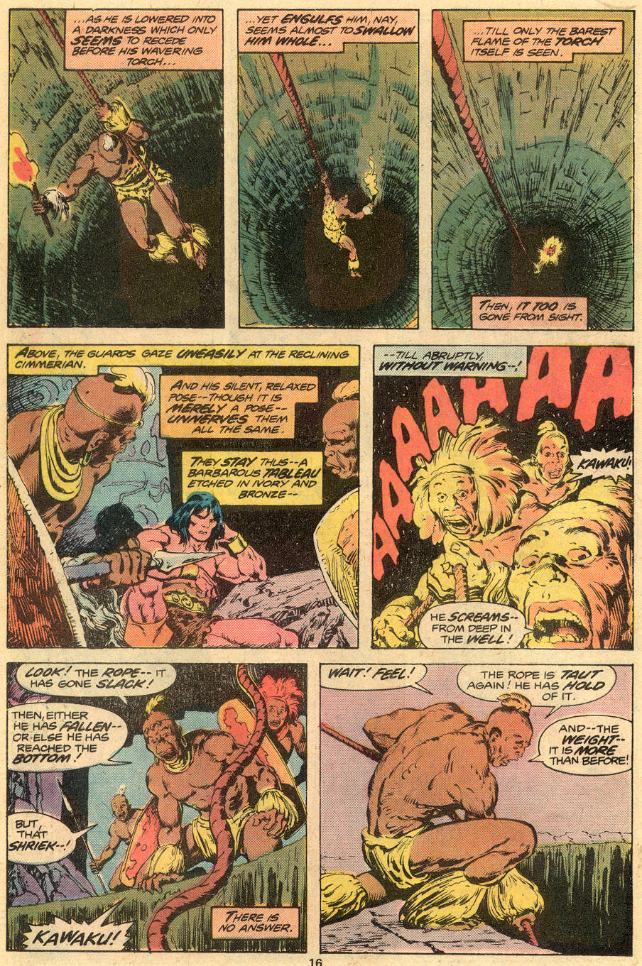 Conan the Barbarian (1970) Issue #73 #85 - English 11
