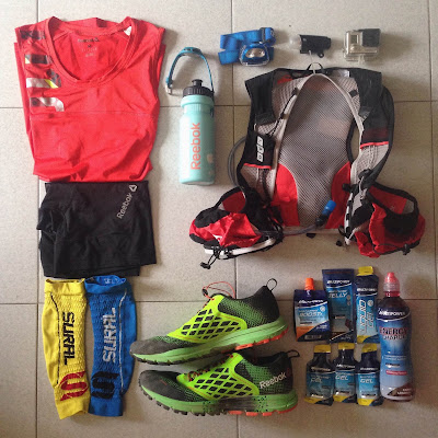 aurun night trail 2015 material