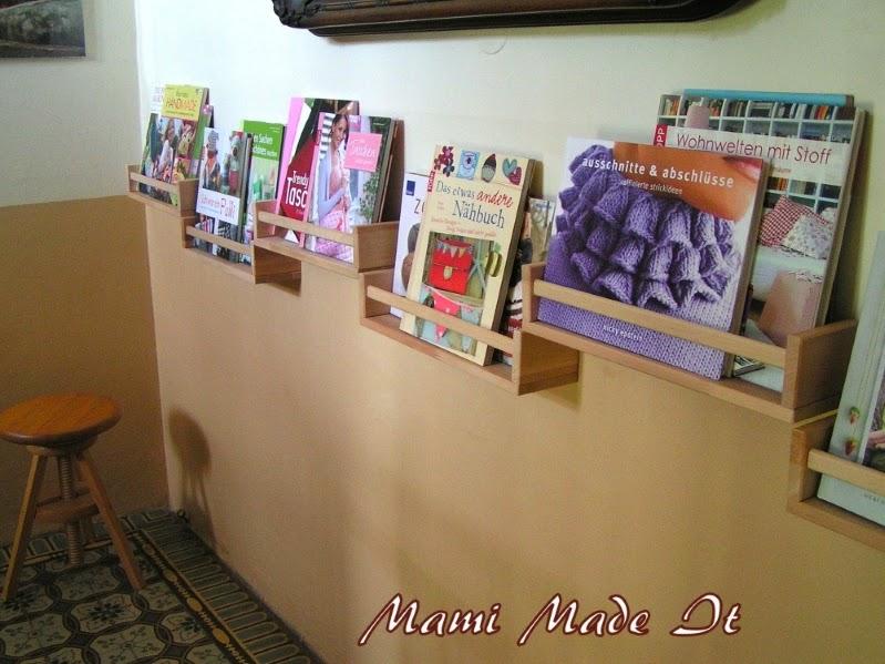 From Spice Rack to Book Display - Vom Gewürzbord zum Bücherregal