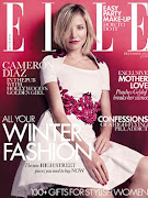 Cameron Diaz Covers Elle Magazine
