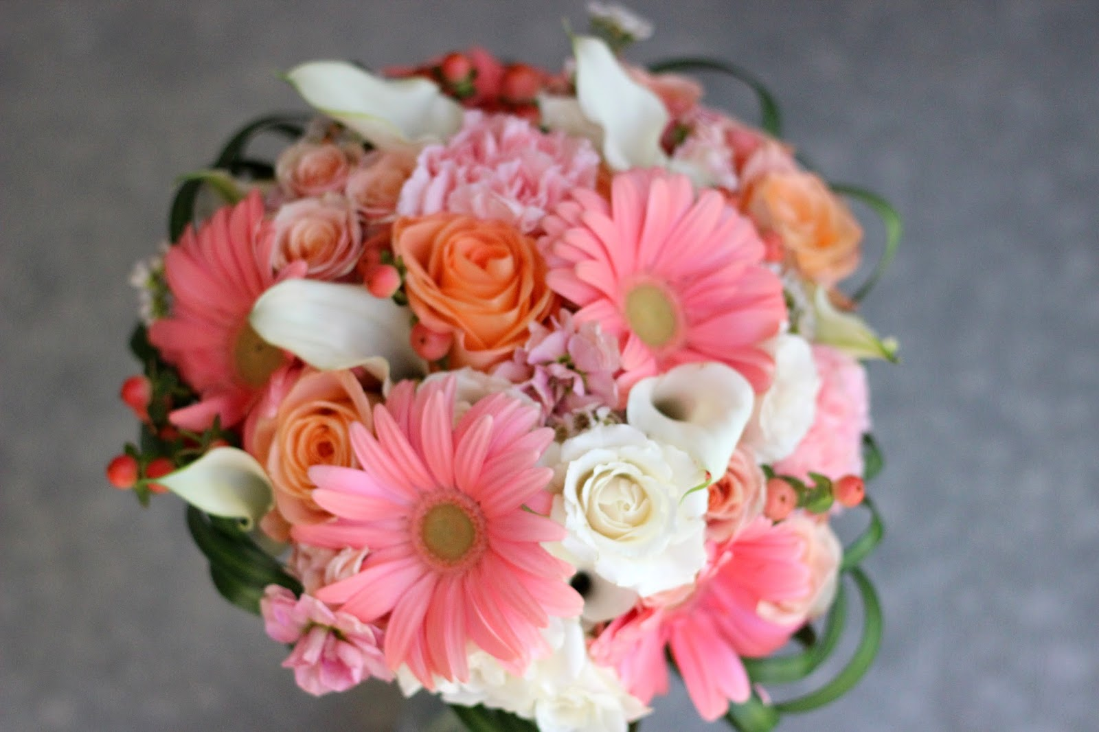 Celebration Flair: Peach and Pink and Coral Oh My! Lindsay + Andrew