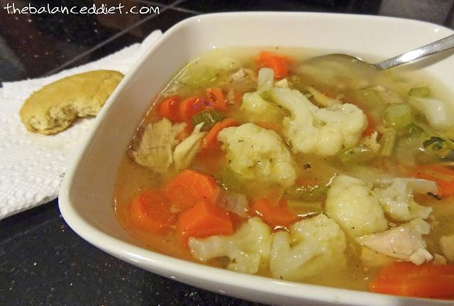 Salted Paleo: Cauliflower Chicken Soup (scd, paleo)