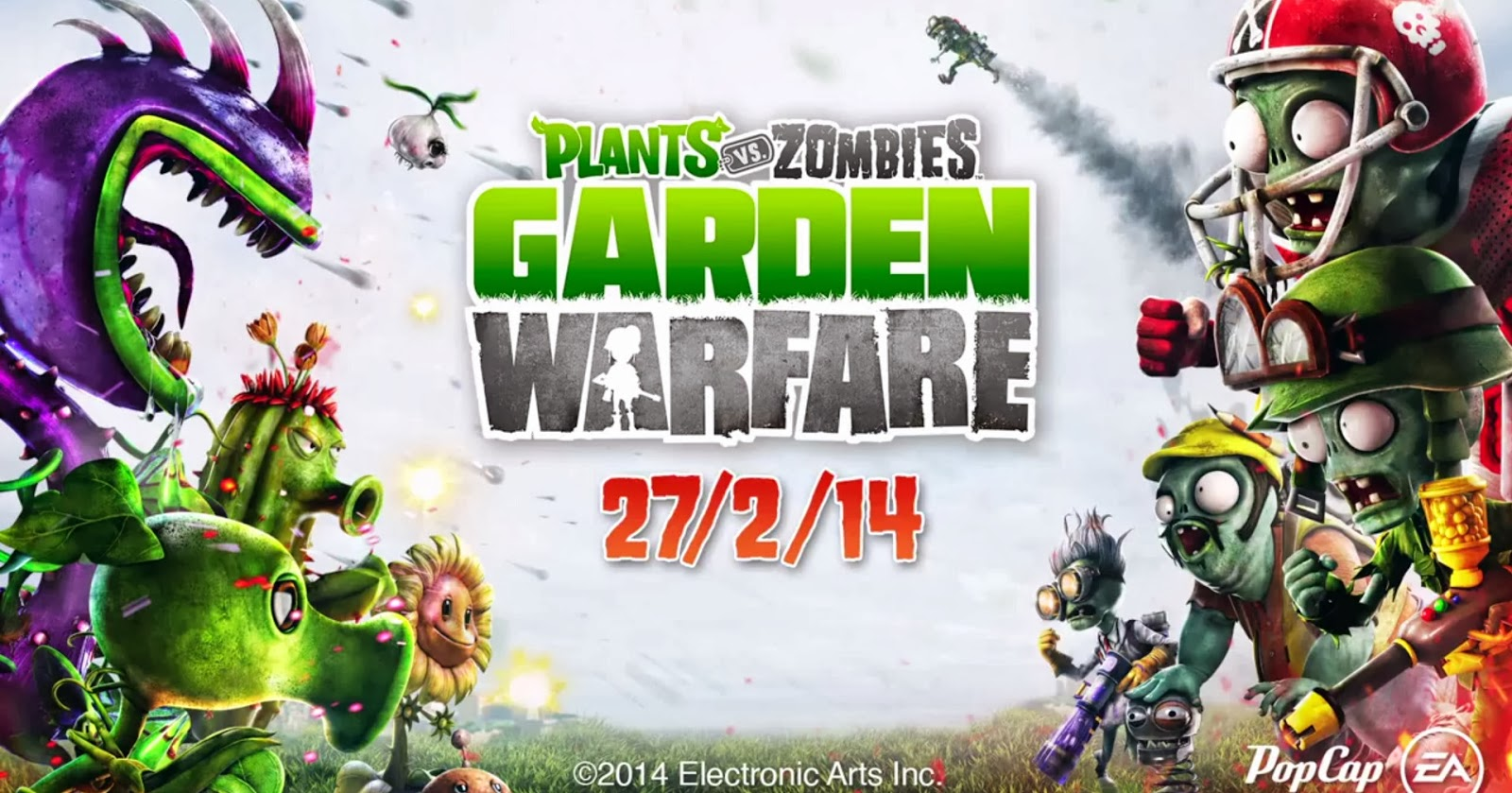 Dia Z Trailer Mostra Combate Ca Tico Em Plants Vs