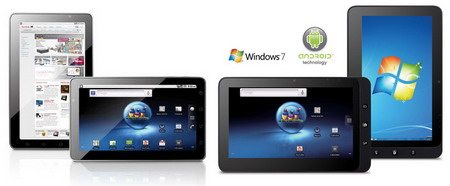 Viewsonic ViewPad 7 and ViewPad 10 Android-based tablets unveiled