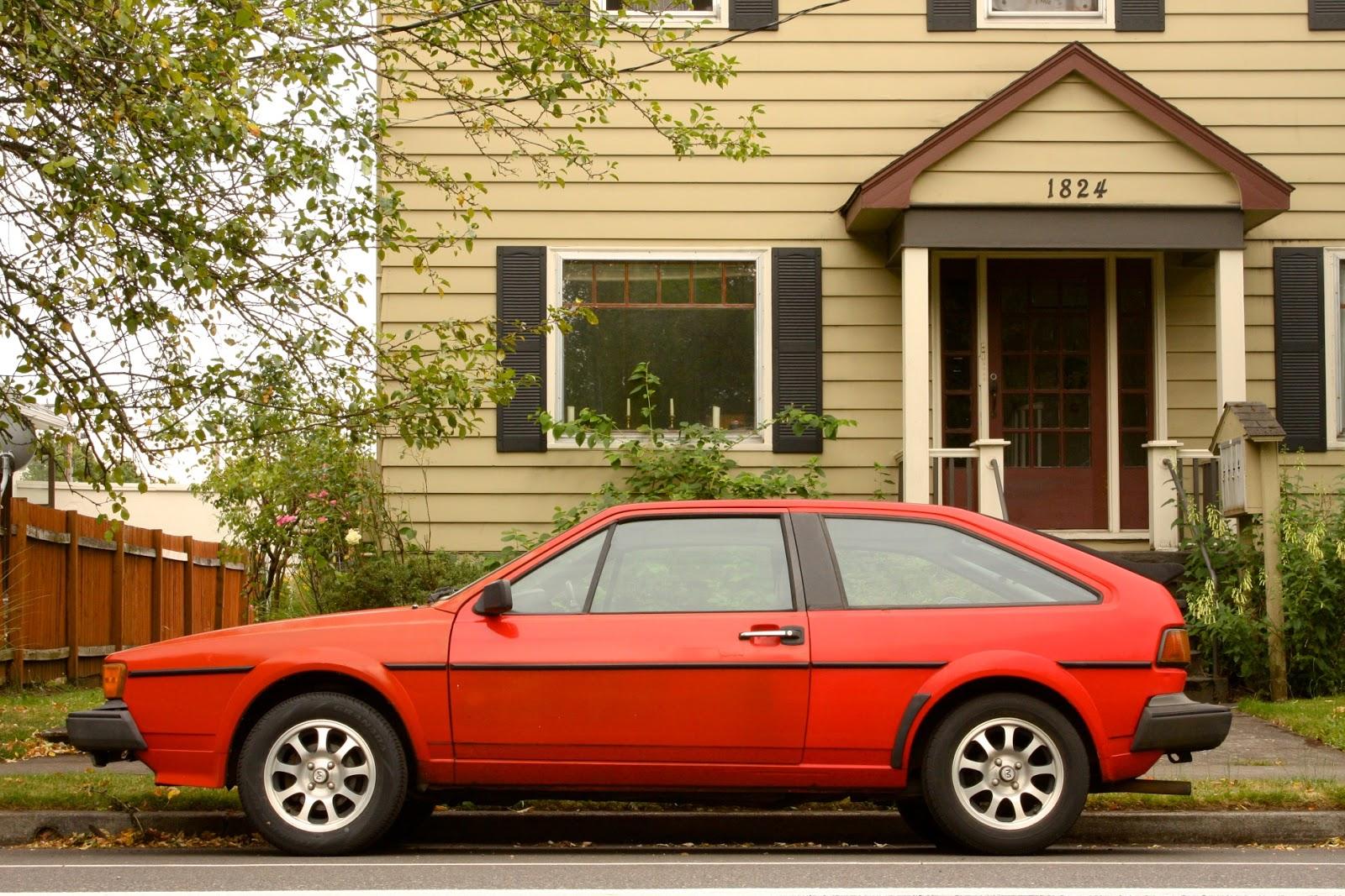 1985 Volkswagen Scirocco.