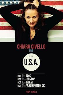 Italian Singer, Pianist and Songwriter  CHIARA CIVELLO Announces October Album Release & Performance Dates