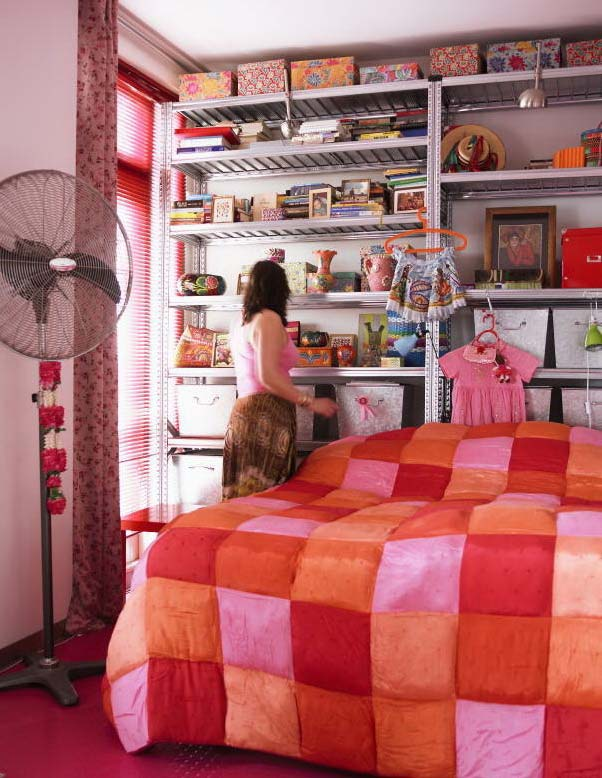 Буйство красок: квартира в Амстердаме