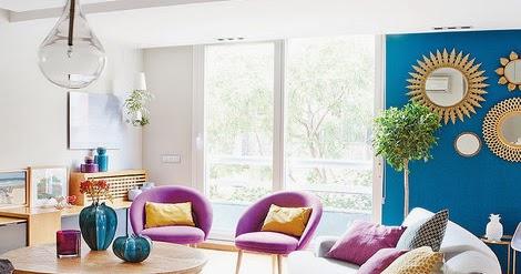 Design Addict Mom: Color Me Happy In Madrid.