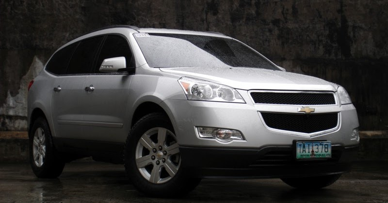 review 2012 chevrolet traverse lt 2wd philippine car news car reviews prices carguide ph. Black Bedroom Furniture Sets. Home Design Ideas