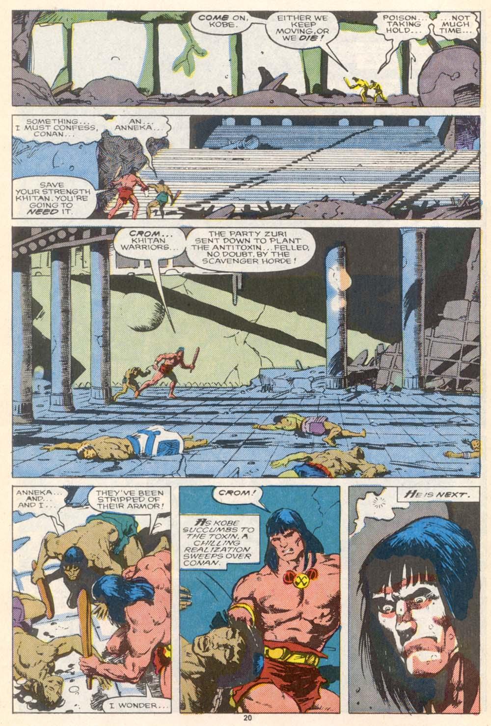 Conan the Barbarian (1970) Issue #208 #220 - English 17