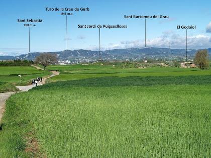 La Plana des de l'ermita de La Damunt
