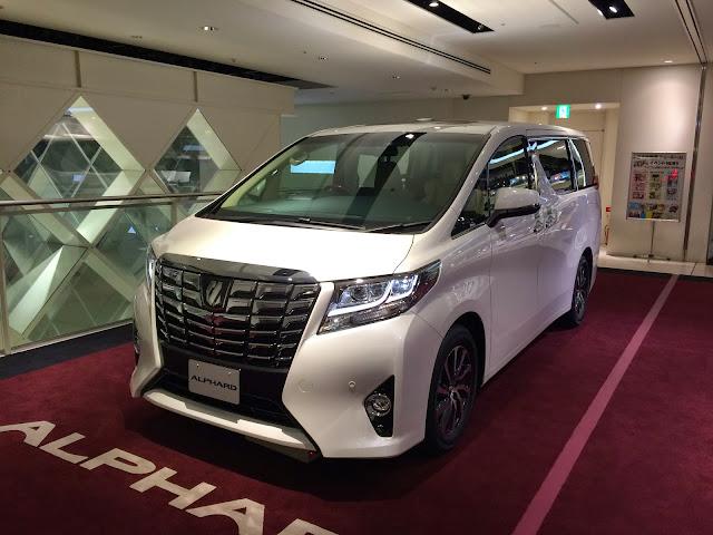 Toyota Melucurkan Alphard Executive Lounge Tembus Rp 15 M!